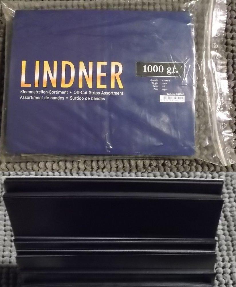 Klemmstreifen Klemmtaschen 1.Wahl 1000g 1Kg schwarz Lindner