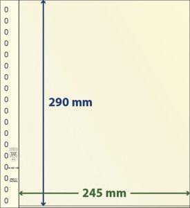 T-Blanko-Blätter 1 Tasche 802106P Lindner Vorteilspreis