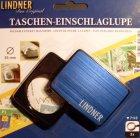 Einschlaglupe Taschenlupe 3-fach 35mm Blau Metallic LINDNER 7113