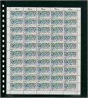 Einsteckblätter OMNIA schwarz Bogenblatt Lindner 020P