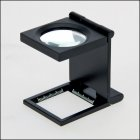 Fadenzähler Lupe 3,5-fach 10dpt Metall 27mm Glaslinse SAFE 4633