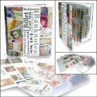 Banknotenalbum mit 20 Seiten SAFE 7921
