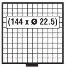 BEBA Schublade 22,5 mm SAFE 6112