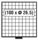 BEBA Schublade 26,5 mm SAFE 6110