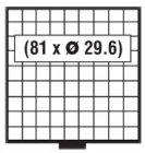 BEBA Schublade 29,6 mm SAFE 6109