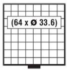 BEBA Schublade 33,6 mm SAFE 6108