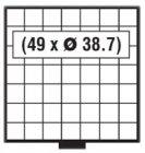 BEBA Schublade 38,7 mm SAFE 6107
