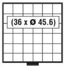 BEBA Schublade 45,6 mm SAFE 6106