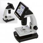 LCD Digital Mikroskop 10-500 fach mit Bildschirm + USB-Anschluß SAFE 9755