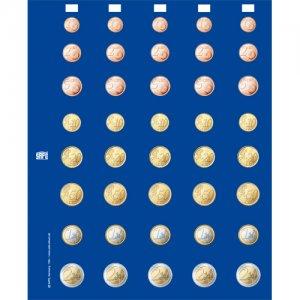Münzen Ergänzungsblatt  €-Sätze farbig SAFE 7395S