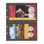 Münzen Ergänzungsblatt 5-er Pack SAFE 7397