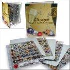 Champagnerdeckel-Album 325x290x60 mm mit 4 Blatt SAFE 7880