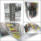 Autogrammkarten-Album 325x290x60 mm mit 20 Blatt SAFE 7927