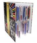 Stifte-Album 325x290x60 mm mit 4 Blatt für 64 Schreiber SAFE 7929