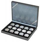Münzkassette 243x187x38 NERA XM für 15 Münzen Lindner 2363-15