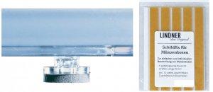Ergänzungssortiment 4 Standfüße + Schildfix Lindner 2185