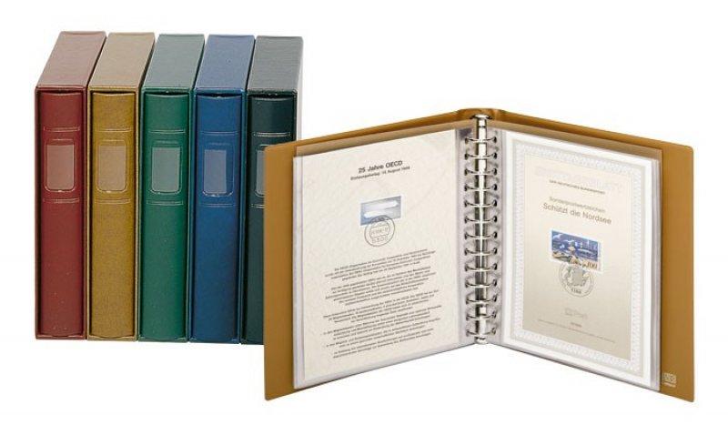 Ringbinder CLASSIC ETB mit 20 Blatt und Kassette Lindner 1130-