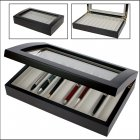 Schreibgeräte-Box Stift-Schatulle Holz für 10 Schreiber Füller