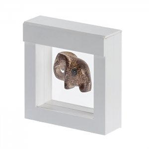 3D Schweberahmen Objektrahmen 100x100 mm weiß
