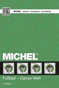 MICHEL Motivkatalog Fußball - Ganze Welt 3.Auflage Briefmarkenkatalog