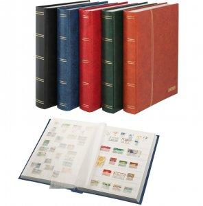 Einsteckbuch 60 weiße Seiten LINDNER 1162S
