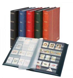 Einsteckbuch 60 schwarze Seiten LINDNER 1169S