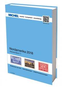 MICHEL Übersee Katalog ÜK1/1 Nordamerika 2018 Briefmarkenkatalog
