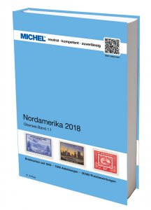 MICHEL Übersee Katalog ÜK1/1 Nordamerika 2015 41.Auflage Briefmarkenkatalog