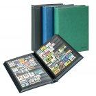 Einsteckbuch 60 schwarze Seiten DIAMANT LINDNER 1195