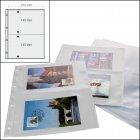 Postkartenalbum Ersatzblätter 2,er-Teilung 50 Stück SAFE 5477-50