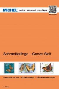 MICHEL Motivkatalog Schmetterlinge - Ganze Welt 1.Auflage 2015 Briefmarkenkatalog