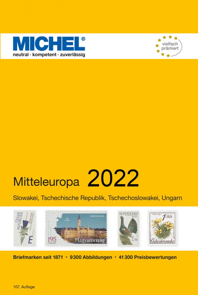 MICHEL Europa Katalog  E2 Mitteleuropa 2021 Briefmarkenkatalog