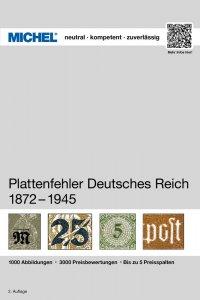 MICHEL Deutsches Reich Plattenfehler 1875-1945 2.Auflage Briefmarkenkatalog