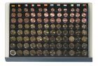 Münzen-Safe Stapelelement  12x€-Sätze 96 Fächer SAFE 6440