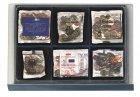 Münzen-Safe Stapelelement 115x108mm 6 Fächer SAFE 6462