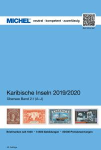 MICHEL Übersee Katalog ÜK2/1 Karibische-Inseln A-J 2019 2020 Briefmarkenkatalog