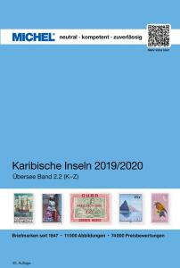 MICHEL Übersee Katalog ÜK2/2 Karibische-Inseln K-Z 2019 2020 Briefmarkenkatalog