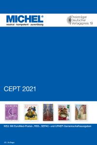 MICHEL CEPT 2021 Briefmarkenkatalog