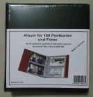 Album für 80-160 Postkarten Ansichtskarten Fotos KOBRA PK3 BLAU