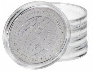Spezial Münzkapseln Kapseln für Medaillen bis zu 8,5mm Höhe VPE 10 Stück LINDNER