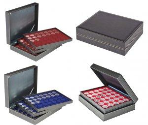 Münzkassette 310x255x82 NERA XL mit 3 Einlagen Lindner 2365-