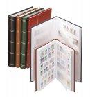 Einsteckbuch 64 geteilte weiße Seiten LINDNER 1167