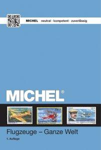 MICHEL Motivkatalog Flugzeuge - Ganze Welt 2016 1.Auflage Briefmarkenkatalog