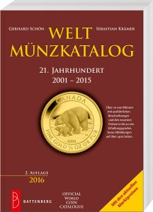 Battenberg Welt-Münzkatalog 20. Jahrhundert 2001-2015 2.Auflage 2016