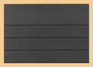 148x105mm A6 Einsteckkarten 4 Streifen OHNE Deckblatt KOBRA VL4