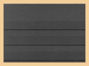 156x112mm C6 Einsteckkarten 3 Streifen OHNE Deckblatt KOBRA VK3