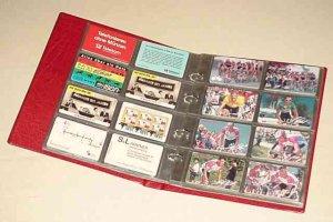 Telefonkarten-Album 230x270x36mm inkl.10 Seiten KOBRA G28