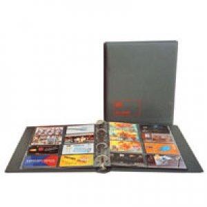Telefonkarten-Album TELECARD 235x275x45mm inkl.5 Seiten SAFE 7561