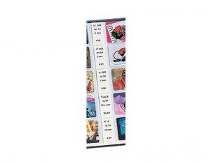 Telefonkarten-Ersatzetiketten FAVORIT VPE 100 Stück SAFE 7556