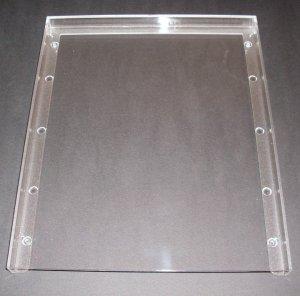 Ersatzteil Klarsichtrahmen für 40mm Sammelbox Lindner 99605